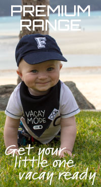 Premium Bibs - Get your little one vacay ready